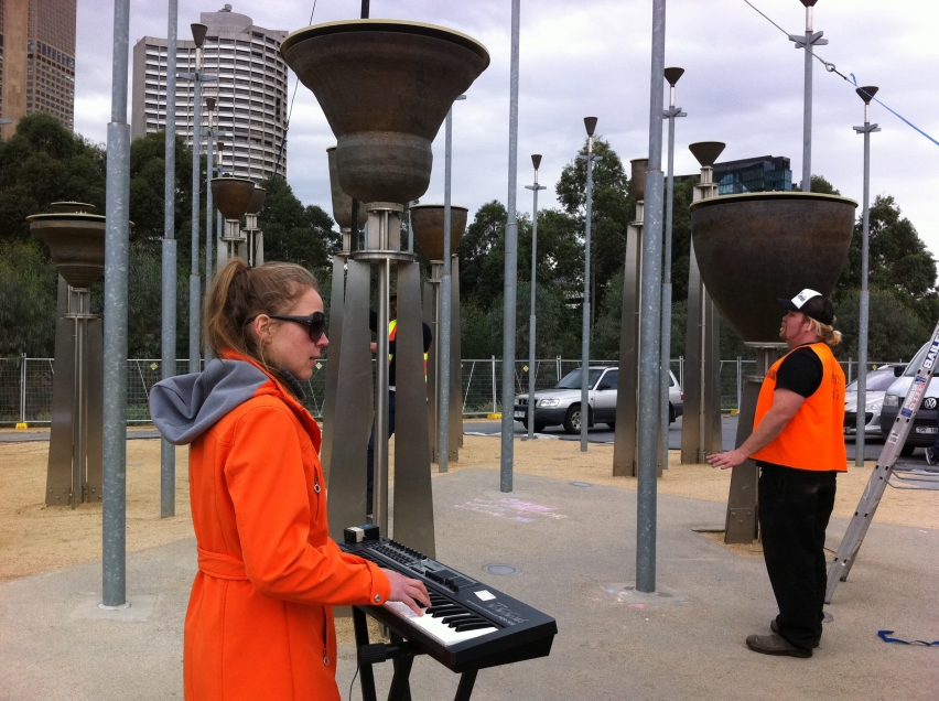 Ania Reynolds from Circus Oz gets to know the instrument